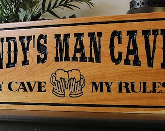Personalized Nfl Man Cave Signs : The best 100 man cave sign image collections nickbarron.co home