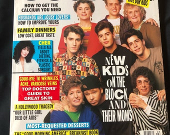 RARE- NKOTB- 1991 Ladies Home Journal- New Kids on the Block