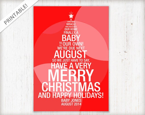 holiday pregnancy announcement cards juve cenitdelacabrera co
