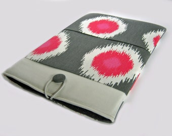 "15"" Chromebook sleeve, Dell XPS 15"" case, 15"" Lenovo Ideapad Thinkpad cover, Acer Aspire, 15"" Asus Case, 15"" Laptop sleeve, Pink Dots"