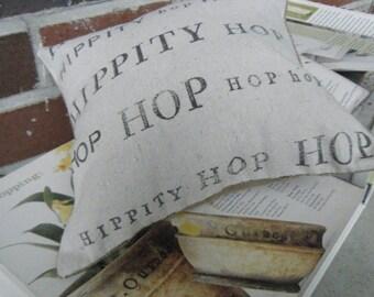 Hippity Hop Hop Pillow