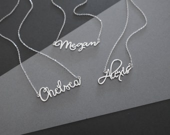 Dainty Name Necklace - Personalized Name Necklace - Custom Name Necklace - Personalized Jewelry - Bridesmaid Gifts - Wedding Gift