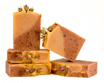 Rose Luxury Soap-All natural cold process soap