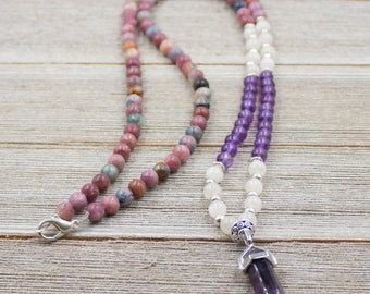 Amethyst Point Healing Necklace