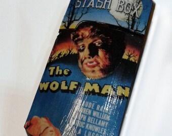 Wolf Man Secret Stash Box