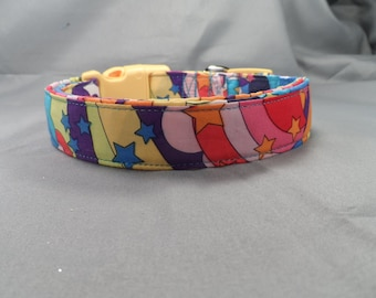 Psychedelic Starry Skies Dog Collar