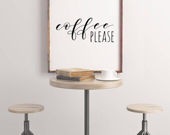 Coffee Please Print