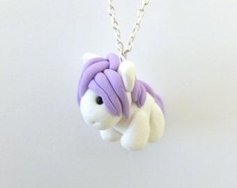 pony charm necklace