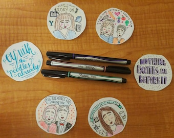 Gilmore Girls Sticker Pack