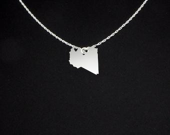 Libya Necklace - Libya Jewelry - Libya Gift