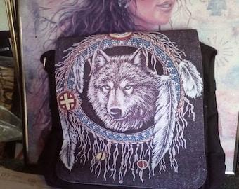 Hobo pattern Wolf