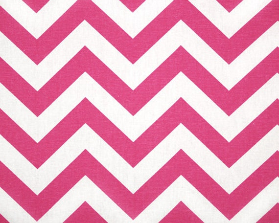 Premier Prints, Upholstery Fabric, Chevron Fabric, Zig Zag, Chevron, Candy  Pink, Hot Pink, Home Decor Fabric, 7 Oz Cotton, FAST SHIPPING