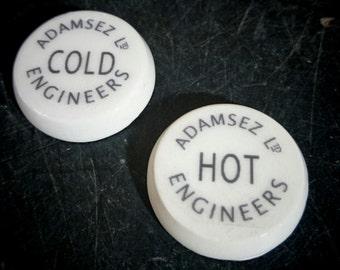 Pair 26mm ceramic tap inserts Adamsez Ltd Engineers