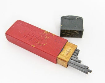 Vintage mechanical pencil leads, Parker Pen pencil leads, Parker Duofold leads F Firm