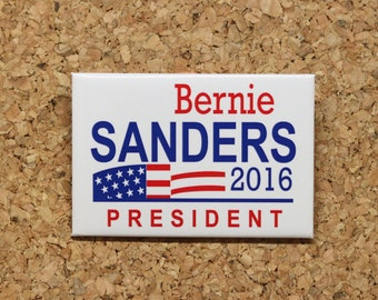 Bernie Sanders Pin / Button President 2016