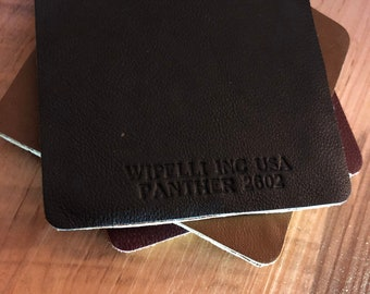 Leather Swatch Coasters