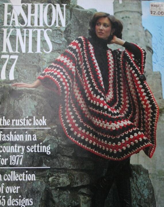 Sweater Knitting Patterns Crochet Fashion Knits 77 Poncho Wedding ...