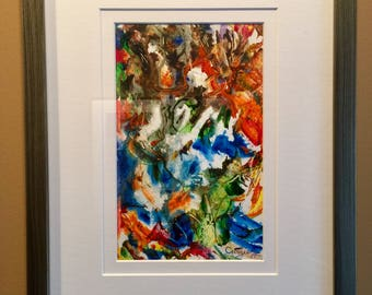 Watercolor Diptych