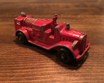 Tootsie Toy Hose Wagon Fire Truck