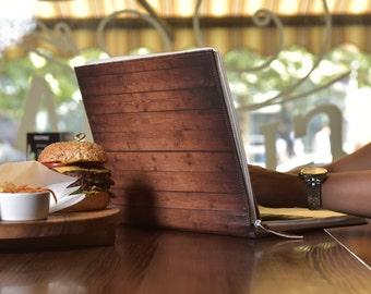 Wooden laptop case | Etsy