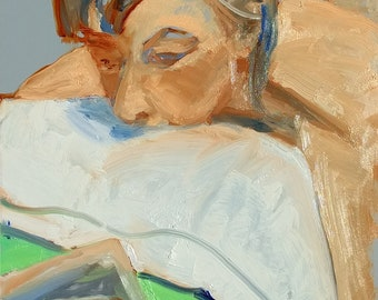 """The Reader (9 x 12"""")"""