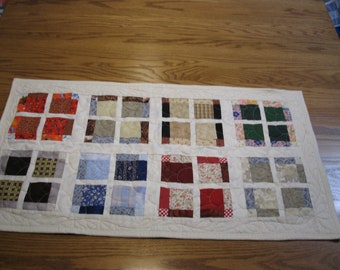 Quilt Pattern Instant Download Disappearing Nine Patch