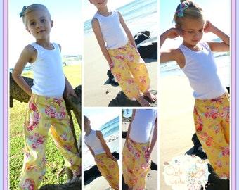 PATTERN : HAREMS - Girls Harem Pants PDF Pattern - 'Little Miss Fancy Pants' - pdf Sewing Pattern - Instant Download - Pattern Emporium