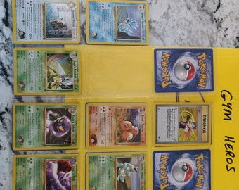 Pokemon Gym Heros Vintage Cards