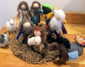 Waldorf Inspired Nativity Set