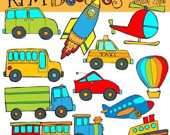 KPM Transportation Digital Clip art