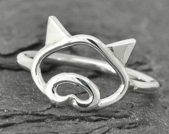 Pig ring, little piggy ring, 925 sterling silver, animal ring, pig jewelry, kids ring, kids jewelry, Bridesmaid Gift, Bridesmaid Ring