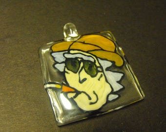 Fear and loathing Rick pendant