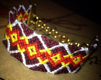 Argyle Friendship Bracelet
