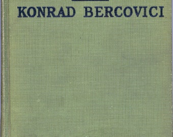 """1926 Book, """"The Volga Boatman"""" by Konrad Bercovici, With Illustrations From The Cecil B De Mille Production"""