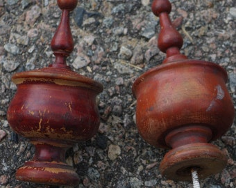 Early 20th Century Staircase Finials