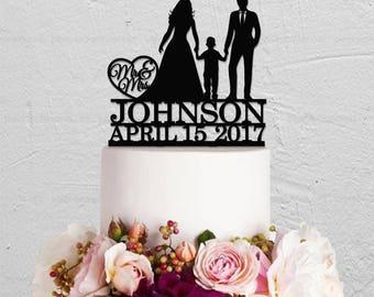 Wedding Cake Topper,Custom Cake Topper,Family Cake Topper,Custom Cake Topper,Children Cake Topper,Couple Cake Topper,Mr And Mrs Cake Topper