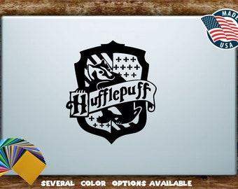 Harry Potter Hufflepuff House Crest Silhouette Vinyl Diecut Decal Sticker All Sizes