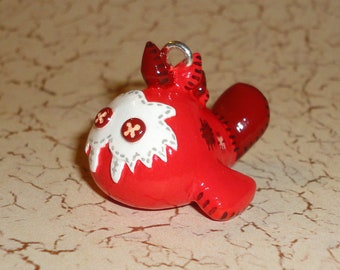 Legend of Zelda - Sand Seal Plushie Necklace - Red Seal Charm