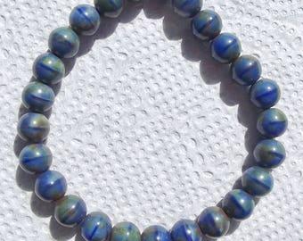 8mm Czech Glass Beads