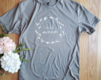 Miracle IVF shirt, transfer day, iui, retrieval, infertility support