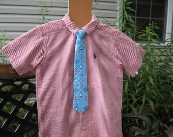 Boys Nautical Necktie