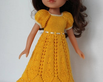 BELLA DRESS  for Paola Reina, Hearts For Hearts or Corolle Les Cheries