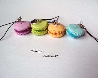strap-portable pastel macaroon jewelry