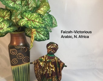 Faizah, Sherika Queen Statue, Welcome to Wakanda Collection, size 1, 7 inches