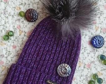 "Feminine hat ""Violet"""