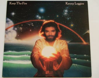 "Kenny Loggins - Keep The Fire - ""Love Has Come of Age"" - Soft Rock - Columbia Records 1979 - Vintage Vinyl LP Record Album"