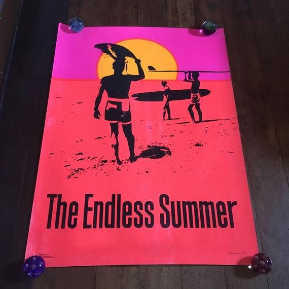 Endless Summer 1966 Original Rare Silkscreened Bruce Brown