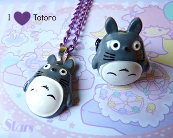 Totoro Resin NECKLACE / RING