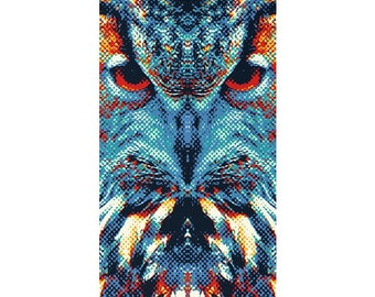 Owl Rug - Colorful Animals