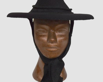 19th C Traditional Tyrolean hat with Red Lining